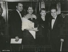 Ken Errair, Jane Withers, Carroll Baker & Jack Garfein  (1956 Press Photo)
