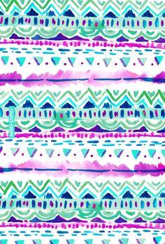 Dash Aztec by Barbra Ignatiev Vs Pink Wallpaper, Wallpaper Backgrounds, Iphone Backgrounds, Screen Wallpaper, Iphone Wallpapers, Tribal Pattern Wallpaper, Aztec Wallpaper, Textiles, Textile Patterns