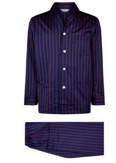 Derek Rose Men/'s Cotton Pyjamas Ledbury   M XL L XXL RRP£195