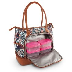 ae1f9bfbeef2 This tote will fit all of your daily essentials! Features a secondary  bottom compartment for