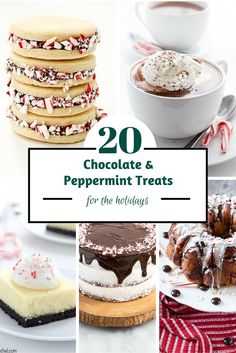 20 Chocolate and Peppermint Treats