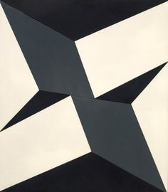 Lygia Clark, Planos em superfície modulada no. 5 (Planes on a modulated surface no. alkyd and nitrocellulose paint on plywood, the Museum of Fine Arts, Houston. Geometric Artists, Famous Abstract Artists, Abstract Geometric Art, Museum Of Modern Art, Museum Of Fine Arts, Art Museum, Houston, Concrete Art, Traditional Paintings