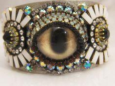Looker Cuff. $200.00, via Etsy., Sherry Serafini