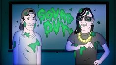 """Skrillex & Jauz Get Animated In """"SQUAD OUT!"""" Video Featuring Fatman Scoop"""