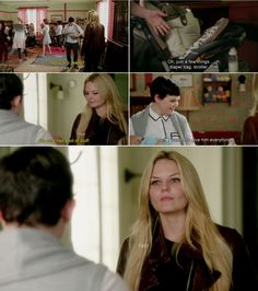 """""""Well, I wanted to give him everything."""" Mary Margaret and Emma - 4 * 7 """"Snow Queen."""""""