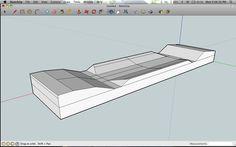 Making a Asymmetrical deck.