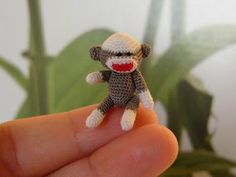 how cute is this sock monkey?