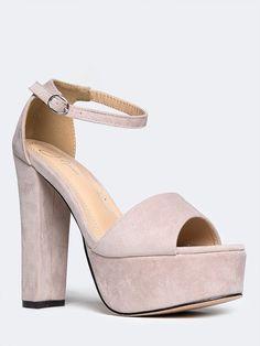 d6e995bf1954 Tutu Platform High Heel - ZOOSHOO. Ankle Strap High HeelsPlatform ...