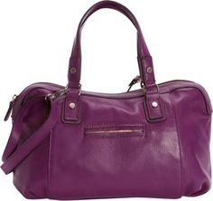 Bella Handbags Angelina Satchel Grape - via eBags.com!