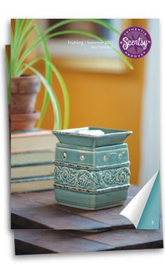 Take a Peek!  Browse the New Spring/Summer 2012 Catalog  Welcome the new fragrances of the season with Scentsy's Spring/Summer 2012 Catalog. Among these pages, you'll find some of the brightest warm-weather scents: lovely Lonicera, juicy Simply Strawberry, citrusy Tingelo, and many more. And, with 20 new Scentsy warmers to choose from, you're sure to find new products to suit your style.