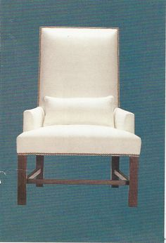 This chair would be great in a fun red print to make it pop. Accent Chairs, Pop, Furniture, Home Decor, Upholstered Chairs, Popular, Decoration Home, Pop Music, Room Decor