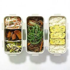 K Food, Food Porn, Good Food, Yummy Food, Easy Healthy Meal Prep, Easy Healthy Recipes, Easy Meals, Bento Box, Lunch Box