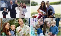Prince William and Kate's sweet family portraits with George and Charlotte - Photo 1