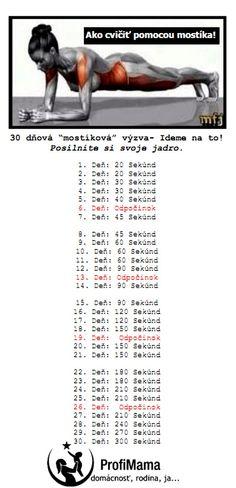 30 dnova mostikova vyzva
