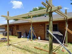 building pergola