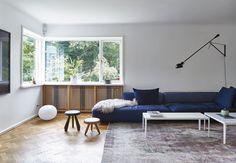 TV-afdeling med stor sofa fra Zanotti
