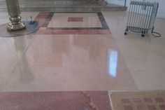 Marble floor polished with FILAKRITALL #Marble Treatment of the #Church of Saint Victor The Warrior - #Kotelniki - #Moscow - #Russia.  See more at: http://www.filasolutionsblog.com/en/2014/03/26/treatment-of-the-church-of-saint-victor-the-warrior-kotelniki-russia/