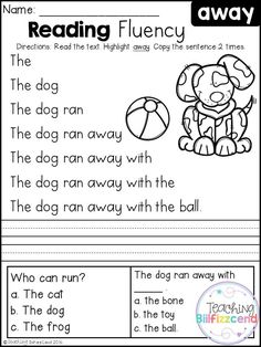 I Can Read Simple Sentences with CVC word families. Read the ...