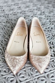 Louboutin flats! - OMG!! Finally a fancy shoe for me :)