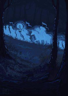 Эльфы покидают Средиземье Passing of the Elves by Pimsri