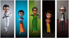 3D Caroon Character