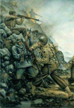 D Day Landings, Wolfenstein, Military Art, Ww2, World War, Sci Fi, Art Prints, Painting, Concept