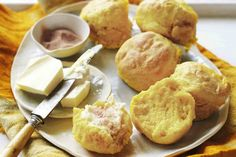 Pumpkin - lemonade scones. These are super-easy, super-tasty scones. They also make great lunch-box fillers.