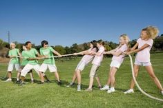 Youth Group Games for Girls Vs. Boys