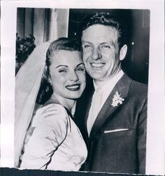 Actor Robert Stack and model wife Rosemarie Bowe! They were married from 1956-2003 when he sadly died. He was 13 years her senior! :)