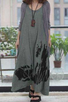 3/3 colors/ Green Skirt/ Long Skirt/ Evening от Eloneeclothing, $65.00