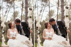 Wedding in the forest near Barcelona