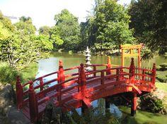 Wonderful bridge at the Oriental Park of maulevrier, France Loire Valley, Garden Waterfall, Forest Garden, Garden Bridge, Landscape Architecture, Trip Advisor, Zen, Outdoor Structures, France