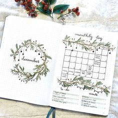 christmas bullet journal bujo planner ideas for we.christmas bullet journal bujo planner ideas for we. - bujo Bullet Christmas Ideas Journal Photos and Videoscollege leaf layout one page tips quotes washi Bullet Journal December, Bullet Journal Easy, Bullet Journal Christmas, Bullet Journal Weekly Layout, Bullet Journal Monthly Spread, Bullet Journal Cover Page, Bullet Journal Aesthetic, Bullet Journal Ideas Pages, Journal Covers