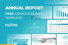 Annual Report Google Slides Template Free Download Free Powerpoint Presentations, Powerpoint Template Free, Powerpoint Presentation Templates, Keynote Template, Photo Report, Data Charts, Annual Reports, Gallery, Google