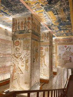 Tumba De Ramss V VI KV9 Valle Los Reyes Tomb Of Egypt