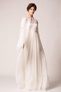 Bridal Cape // Wedding Dress  // Fall Winter