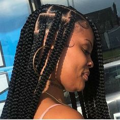 Braids Hairstyles Pictures, Box Braids Hairstyles For Black Women, Black Girl Braids, African Braids Hairstyles, Braids For Black Hair, Girls Braids, Hair Pictures, Summer Hairstyles, Protective Hairstyles