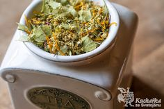 Kuchařka ze Svatojánu: ZORINČIN ČAJ NA KAŠEL How To Dry Basil, Guacamole, Spinach, Cabbage, Herbs, Vegetables, Health, Ethnic Recipes, Food