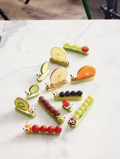 Celery Snails & Caterpillarswomansday