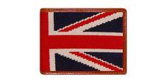 Union Jack Needlepoint Wallet