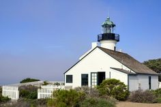 Jewels of the California Coastline: 16 Stunning Lighthouse Views: Point Loma Lighthouse (1855)