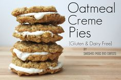 Smashed Peas and Carrots: Oatmeal Creme Pies {Gluten and Dairy Free}-RECIPE #gfcommunity