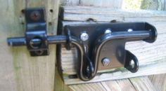 Fence gate locks