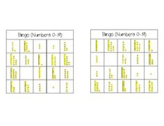 Teen Number Bingo...Common Core Math Standard K.NBT.1 and 1.NBT.2  Can be used for centers/stations/tubs, partner games, or small group practice. It includes 24 different variations of the bingo card!