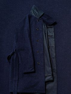 REVERSIBLE SOUTIEN COLLAR COAT [PMAC-OT03] | PHIGVEL MAKERS & Co. フィグベル