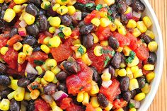 Black Bean and Corn Salsa Recipe | http://shewearsmanyhats.com/black-bean-corn-salsa-recipe/