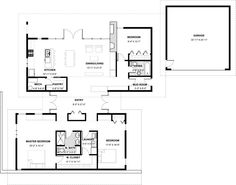 House Plan #498-4  Exclusive Design by Matthew Coates