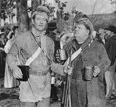 John Wayne and Oliver Hardy 1949