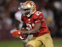 Frank Gore. He's such a great football player for the 49ers.