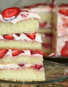 favorite cake, strawberry short cake